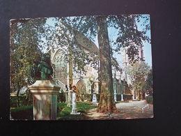 (92) SCEAUX Le Jardin Des Félibres Et L'église Saint Jean Baptiste - Sceaux