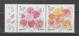 FRANCE / 2015 / Y&T N° 4957/4958 ** : Dyptique Roses - Lyon - Gomme D'origine Intacte - Neufs