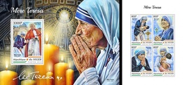 Niger 2018, Mother Teresa, 4val In BF +BF - Mother Teresa