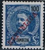 Zambeze, 1911, # 63, MH - Zambezia