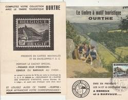 Belgique Carte Maximum Vallée De L' Ourthe ESNEUX 14/12/1968 - Maximumkarten (MC)