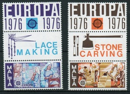 Malta Complete Set Of Stamps To Celebrate Europa With Margin Labels. - Malta
