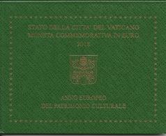Vaticano 2 Euro 2018, Anno Europeo Del Patrimonio Culturale F.D.C. Vatikan - Vaticano (Ciudad Del)