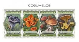 Mozambico 2018, Mushrooms, Snail, 4val In BF - Insekten
