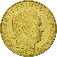 Monnaie, Monaco, Rainier III, 20 Centimes, 1978, TTB, Aluminum-Bronze, KM:143 - 1960-2001 Nouveaux Francs
