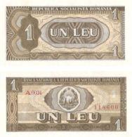 Romania. Banknote. 1 Lei. 1966. UNC - Romania