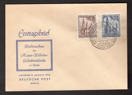 Berlin, FDC. Mi.-Nr. 106 +109 - FDC: Briefe