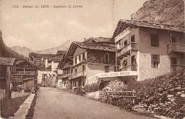 125/FP/18 - EXTRA - BALME (TORINO): Ingresso Al Paese Con Hotel Broggi - Autres