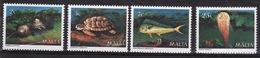 Malta Complete Set Of Stamps To Celebrate Marine Life. - Malta