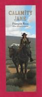 Marque Page.   CALAMITY JANE.   Albin Michel Jeunesse. - Bookmarks