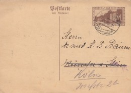 Deutsches Reich Saargebiet Postkarte P37 F + A 1930 - Deutschland