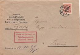 Deutsches Reich Brief 1930 Dienst Ef 103 - Deutschland