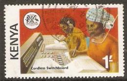 Kenya  1976  SG  57   Telecomminicationns   Fine Used - Kenya (1963-...)