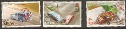 Kenya  1978  SG  131,3,6, Road Safety   Fine Used - Kenya (1963-...)