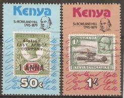 Kenya  1979  SG  164-5  Roland Hill    Fine Used - Kenya (1963-...)
