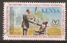Kenya  1981  SG  194  Year Of The Disabled   Fine Used - Kenya (1963-...)