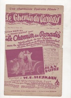 FILM ERIC POMMER-UFA LE CHEMIN DU PARADIS OPERETTE FILMEE LILIAN HARVEY & HENRY GARAT - 1930 - HALLOH ! DU SÜSSE FRAU ! - Partitions Musicales Anciennes