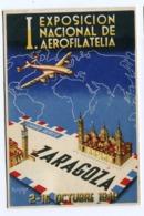ZARAGOZA.EXPOSICION DE AEROFILATELIA 1949 - Zaragoza