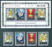 NIUE  - 2009 - USED/OBLIT  - CHRISTMAS - Yv 916-919 BLOC 159 - Lot 17782 - Niue