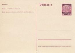 Deutsches Reich Osten General Gouvernement Postkarte P2-II 1940 - Deutschland