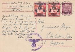 Deutsches Reich Osten General Gouvernement Postkarte P2 1940 - Deutschland