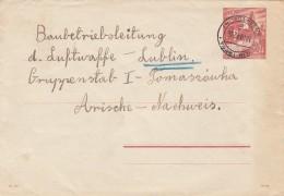 Deutsches Reich General Gouvernement Umschlag U2/01 1941 - Deutschland