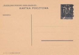 Deutsches Reich General Gouvernement Postkarte 1940 P5 - Deutschland
