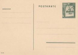 Deutsches Reich General Gouvernement Postkarte 1940 P8 - Deutschland
