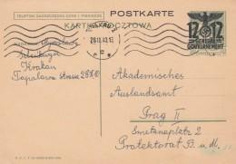 Deutsches Reich General Gouvernement Postkarte 1940 P6 - Deutschland