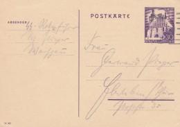 Deutsches Reich General Gouvernement Postkarte 1940 P9 - Deutschland