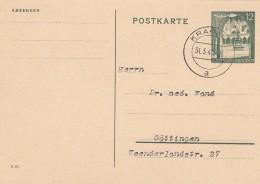 Deutsches Reich General Gouvernement Postkarte 1940 P10 - Deutschland
