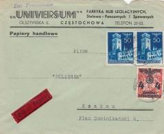 Deutsches Reich General Gouvernement Eilbrief 1940 - Deutschland