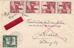 Deutsches Reich General Gouvernement Eilbrief 1941 - Deutschland