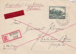 Deutsches Reich General Gouvernement R Brief 1942 - Deutschland