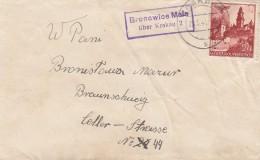 Deutsches Reich General Gouvernement Brief 1941 Mit Sonderstempel - Deutschland