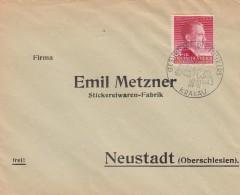Deutsches Reich General Gouvernement FDC Brief 1943 - Deutschland