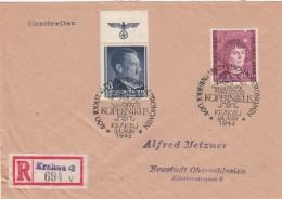 Deutsches Reich General Gouvernement R Brief 1943 - Deutschland