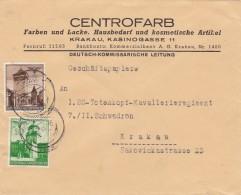 Deutsches Reich General Gouvernement Brief 1941 - Allemagne