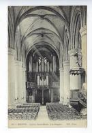 CPA Dieppe Église De Saint Rémi Les Orgues 408 - Dieppe