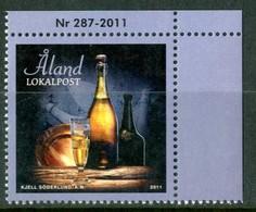 ALAND 2011** - Champagne - 1 Val. MNH, Come Da Scansione. - Vini E Alcolici