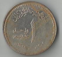 Sudan,1 Pound 1989 - Soudan
