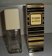 IVOIRE DE BALMAIN ATOMISEUR EAU DE TOILETTE VIDE - Bottles (empty)