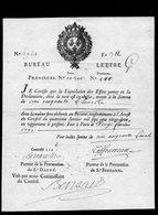 """""""Bureau Lettre""""de La Banque De LAW-Faciale150 Livres (Alphabet-Série 6921-Folio 312-Lettre G - France"""