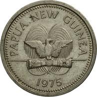 Monnaie, Papua New Guinea, 5 Toea, 1975, Hambourg, TTB, Copper-nickel, KM:3 - Papúa Nueva Guinea