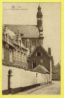 * Lier - Lierre (Antwerpen - Anvers) * (Nels, Uitg. Van Der Hallen) Kerk En Margarethastraat, Begijnhof, Béguinage Rare - Lier
