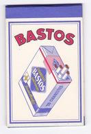 Rare Petit Carnet Publicitaire Cigarettes Bastos, 6 X 9,2 Cm - Other