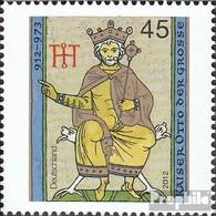 BRD (BR.Deutschland) 2949 (completa Edizione) MNH 2012 Imperatore Otto Il Grande - Nuevos
