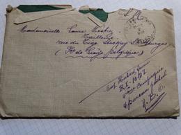 Courier Envoyé Par Le 4eme Bureau Postal Par Un Militaire. - Postmark Collection