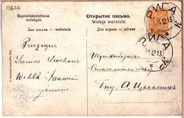Russia Latvia Pc Cancel RIGA K 24.12.1913. - 1857-1916 Empire
