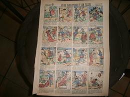 ANCIENNE PLANCHE LE ROI D ANGLETERRE ET SON FILLEUL CONTES DE FEES    IMAGERIES REUNIES DE JARVILLE NANCY VERS 1890/1900 - Collections